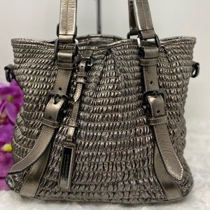 Authentic Preowned Burberry Gray Tote Bag